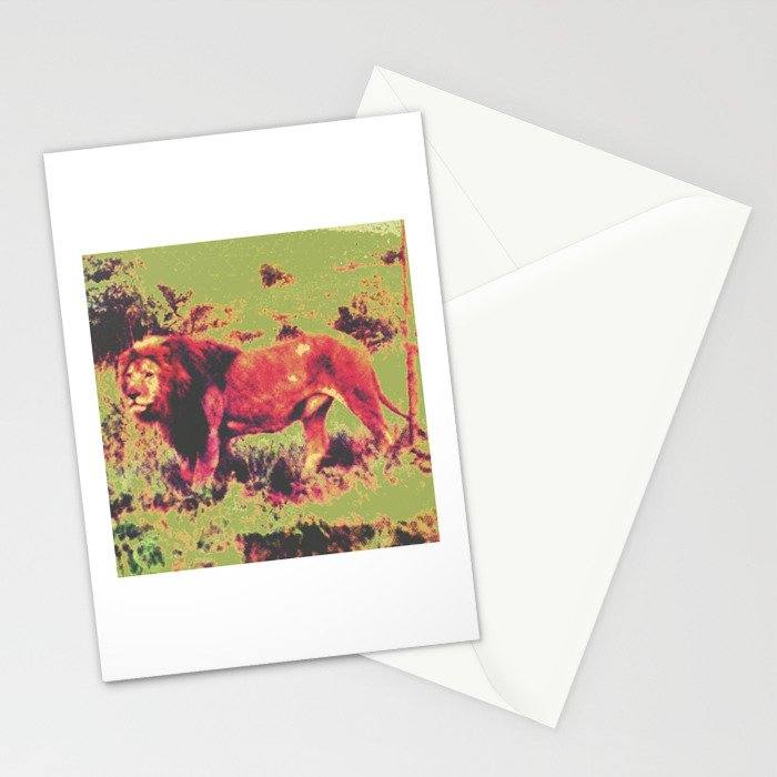 The Lion's Vision Quest Stationery Cards