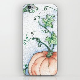 Pumpkin Magic iPhone Skin