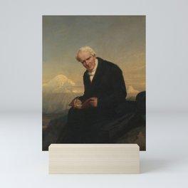Julius Schrader - Baron Alexander von Humboldt (1769–1859) Mini Art Print