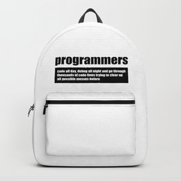 Programmers Backpack