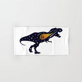 Dinosaur and meteorite strike #society6 #decor #buyart #artprint Hand & Bath Towel