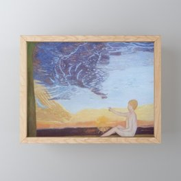 sunrise  2 Framed Mini Art Print