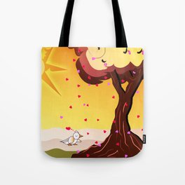 Under the tree part II Tote Bag