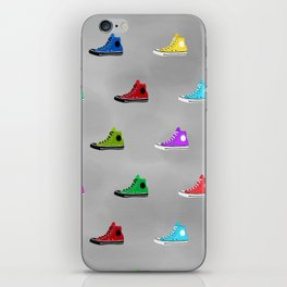 Rock shoes iPhone Skin
