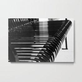Aligned Metal Print