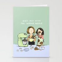baking Stationery Cards featuring Baking Advice by Sophie Corrigan