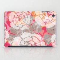 hawaiian iPad Cases featuring Styled Hawaiian  by Claire Smillie