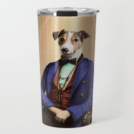 Doctor Declan Dogue in his Parlor Travel Mug