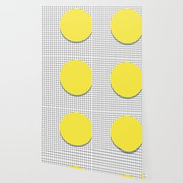 Memphis Yellow Wallpaper
