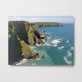 Hell's Mouth Metal Print