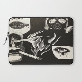 Its all just smoke and gasmasks Laptop Sleeve
