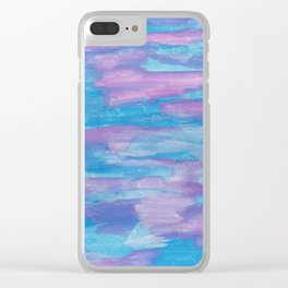 Oceans and Sky Clear iPhone Case