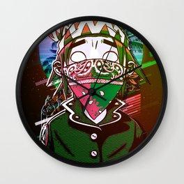 Demons Days mask Wall Clock