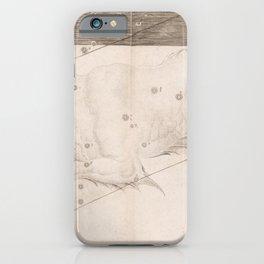 Johann Bayer - Uranometria / Measuring the Heavens (1661) - 32 Cetus / Whale iPhone Case