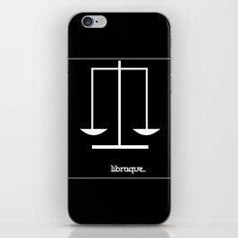 Libra ~ Libraque ~ Zodiac series iPhone Skin