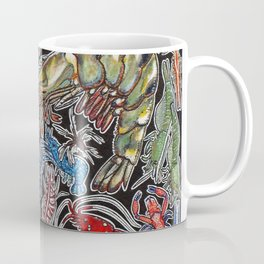 Prawns, gambas and shrimps for ocean lovers, marine biologists and scuba divers Coffee Mug