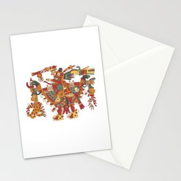 Aztec Inca God Graphic Stationery Cards
