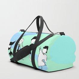 World Dancers - Blue Duffle Bag