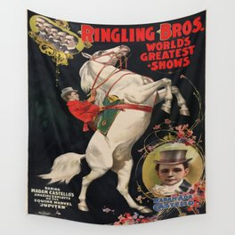 Vintage poster - Circus Wall Tapestry