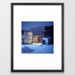 Vacants Framed Art Print