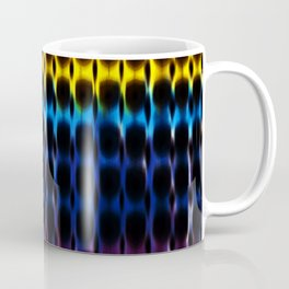 Digital Rainbow Hippie Tie-Dye Coffee Mug