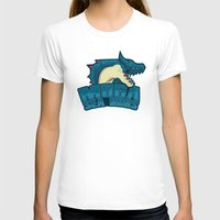 monster hunter T-shirts featuring Monster Hunter All Stars - Moga Sea Dogs by Bleached ink