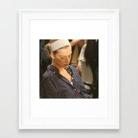 sleeping beauty Framed Art Prints featuring sleeping beauty by EnglishRose23