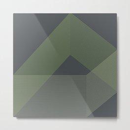Minimal Geometry No. 4 Metal Print