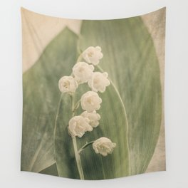 Scents of Spring - Lily of the Valley vi Wall Tapestry