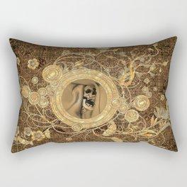 Scary skull Rectangular Pillow