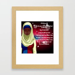 Kafirun Framed Art Print