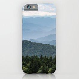 Smoky Mountain National Park -  Summer Adventure iPhone Case