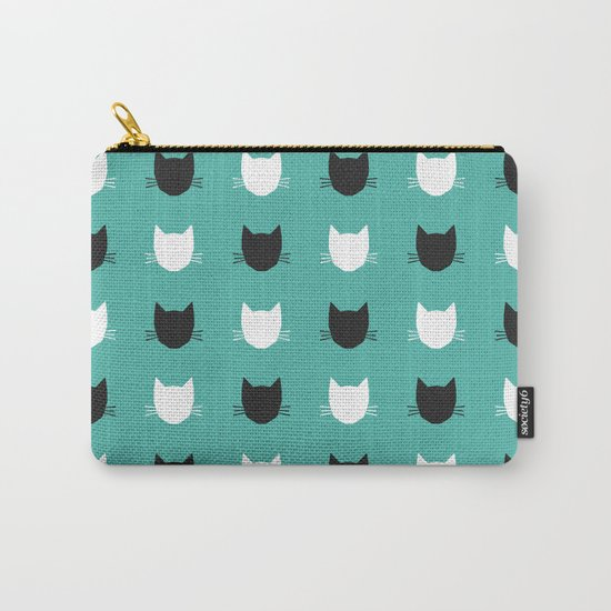 Cat Pattern 03 Carry-All Pouch