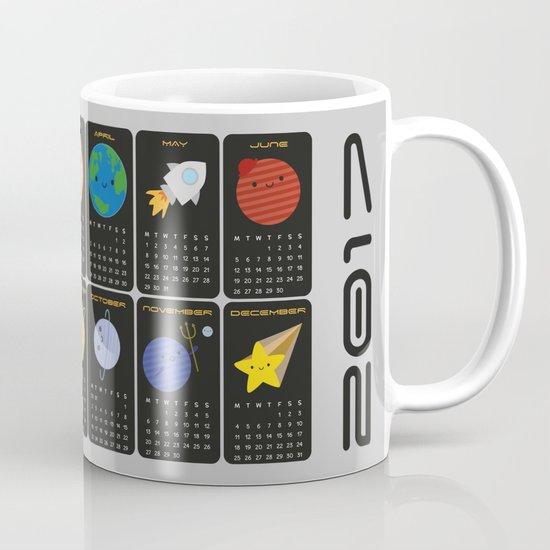 Say Hello to the Solar System 2017 Calendar Mug
