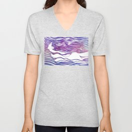 Water Nymph VI Unisex V-Neck