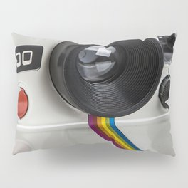 Camera I Photorealism Painted Pillow Sham