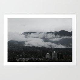 God's Breath Art Print