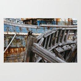 Ship Wreck Rug