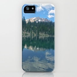 Lassen Volcanic iPhone Case