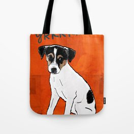 Dog: Rat Terrier Tote Bag