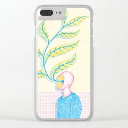 The Renaissance of Yourself Clear iPhone Case