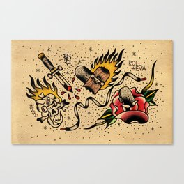 Flash sb Canvas Print