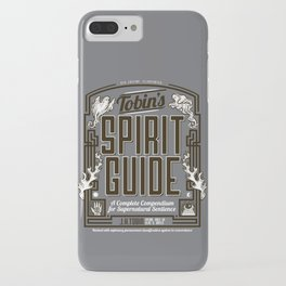 The Ghostbusters Greatest Resource: Tobin's Spirit Guide. iPhone Case