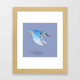 Kingfisher. Framed Art Print