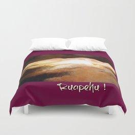 Ruapehu Sunset Duvet Cover