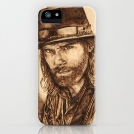 Hell on Wheels Inspired, Mr. Bohannon iPhone Case