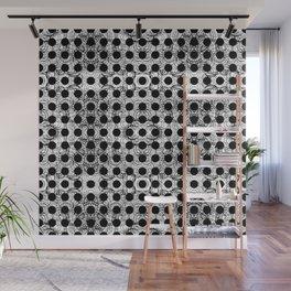 black dot system Wall Mural