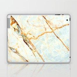 Golden Marble Laptop & iPad Skin