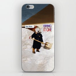 Okay, Winter . . . Bring it on! iPhone Skin