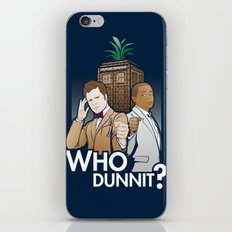 Who Dunnit? iPhone & iPod Skin